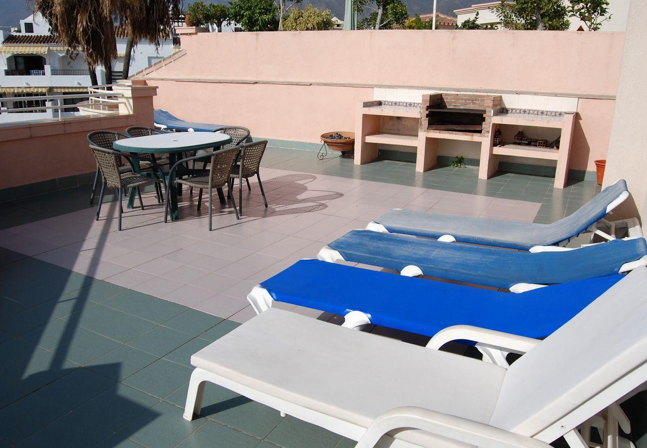 Ferienwohnung in Nerja - Penthouse Los Jarales 3 Casasol
