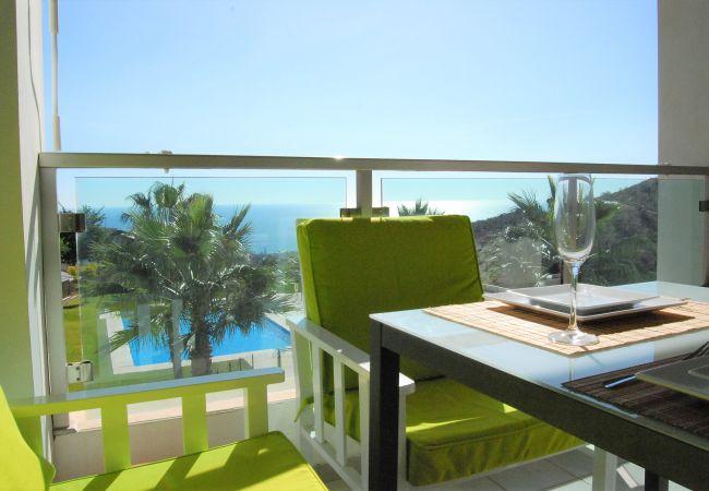Modernes Apartment mit coolen Meerblick