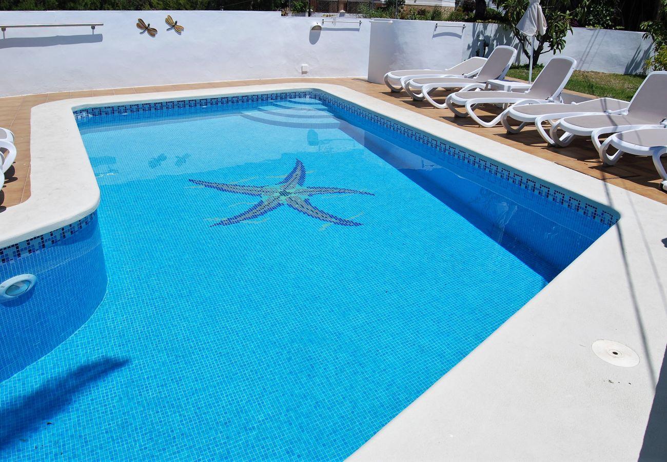 Ferienwohnung in Nerja - Villa Sandra Top Floor Casasol