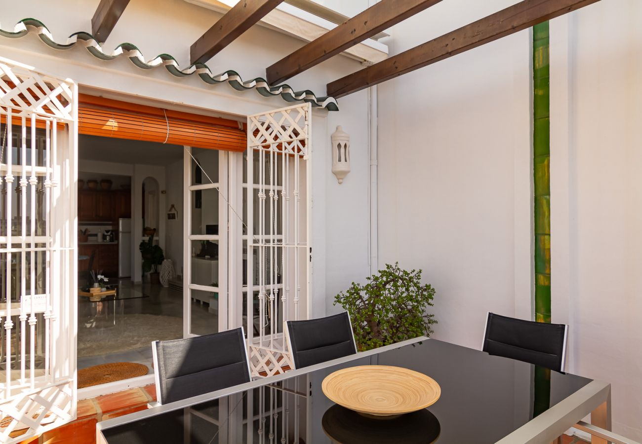 Ferienhaus in Nerja - Casa Corazon Burriana Casasol